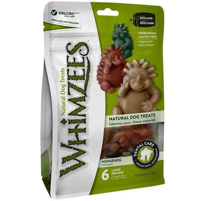 Whimzees [33% OFF] Whimzees Hedgehog Large Natural Dog Treats 360g Dog Food & Treats