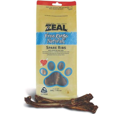Zeal Zeal Free Range Naturals Spare Ribs Dog Treats Dog Food & Treats