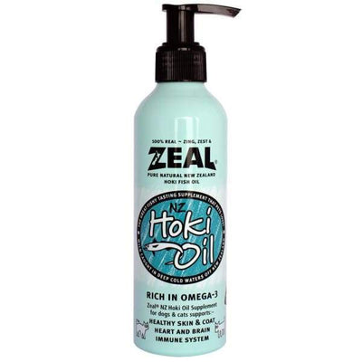 Zeal Zeal Pure Natural New Zealand Hoki Fish Oil Cat & Dog Supplement 220ml [CATS & DOGS] Dog Healthcare