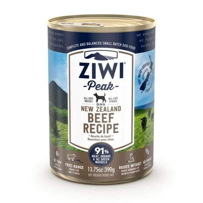 Ziwi Peak [20% OFF!] Ziwi Peak Beef Canned Dog Food 390g Dog Food & Treats