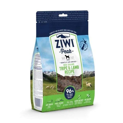 Ziwi Peak [20% OFF!] Ziwi Peak Tripe & Lamb Air Dried Dog Food Dog Food & Treats