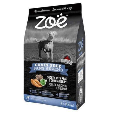 Zoe Zoe Chicken With Peas & Quinoa Recipe Grain Free Dry Dog Food 2kg Dog Food & Treats