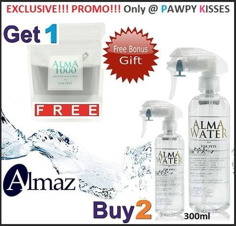 [ Exclusive Promotion ] 2 X Alma Water (300Ml) & Get 1 X Alma 1000 Collagen (100G) Free!!