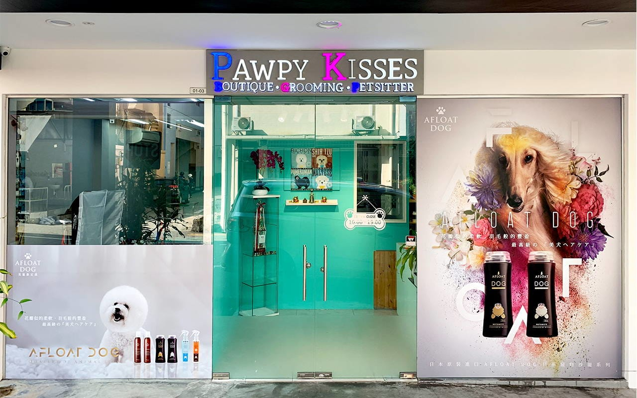 dog grooming singapore shop pawpy kisses 1