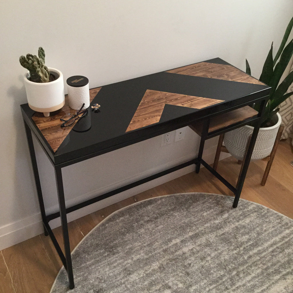 Epoxy Console Table