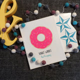 Donut Worry, Be Happy - Canvas
