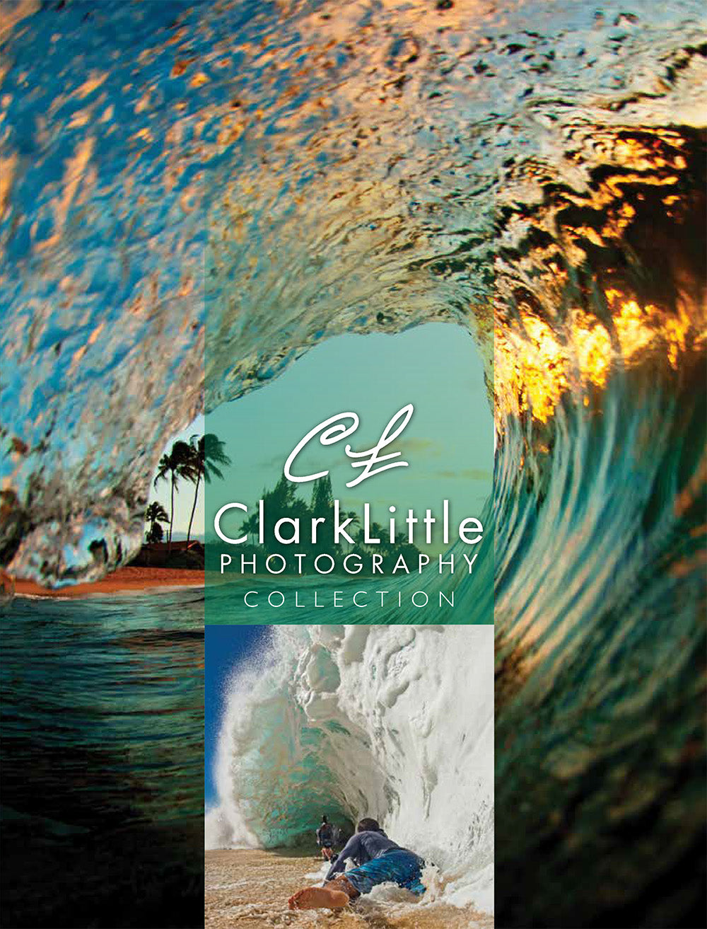 Crazy Shirts Summer 2021 Catalog cover with Clark Little photo and Clark Little shooting