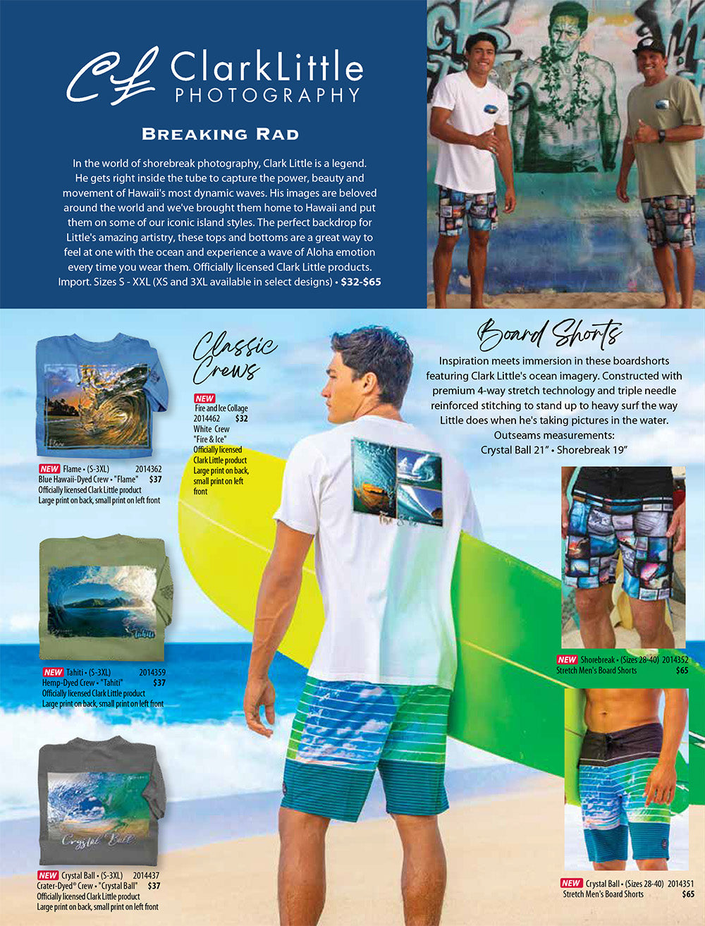 Crazy Shirts 2021 Summer Catalog inner page
