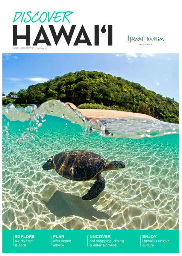 Hawaii Tourism Authority Magazine - Clark Little Photography