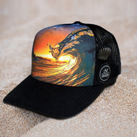 f0b6133dde435 Trucker Hat  King Kamehameha - Clark Little Photography