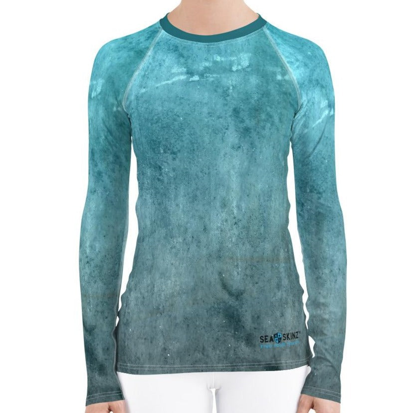 Women's Oceanic Sea Skinz Performance Rash Guard UPF 40+