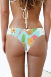 Vintage Aloha Cheeky Hotcakes - AMARA Tulum - Sustainable, reversible designer swimwear and bikinis.
