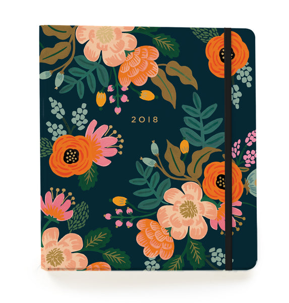 2018 17-Month Planner - Lively Floral