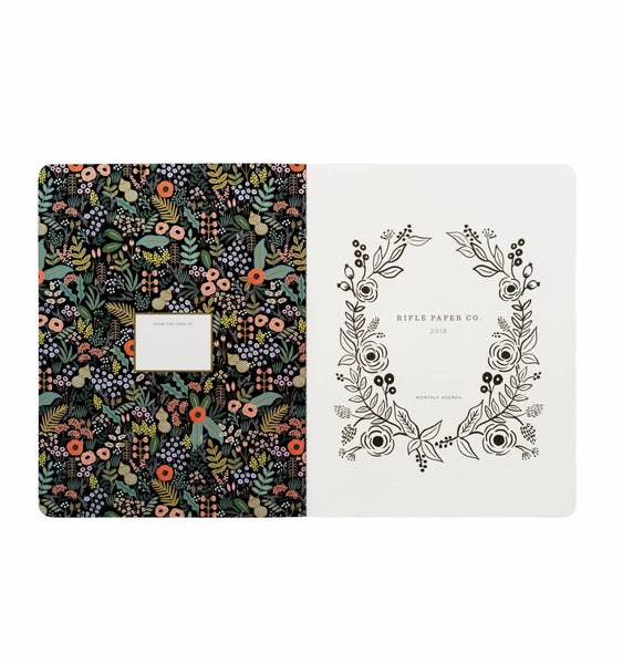 2019 Appointment Notebook - Bouquet