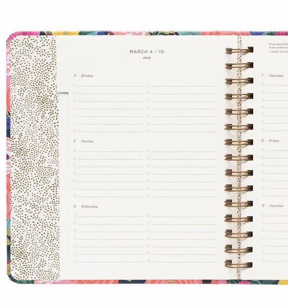 2019 17-Month Planner - Juliet Rose