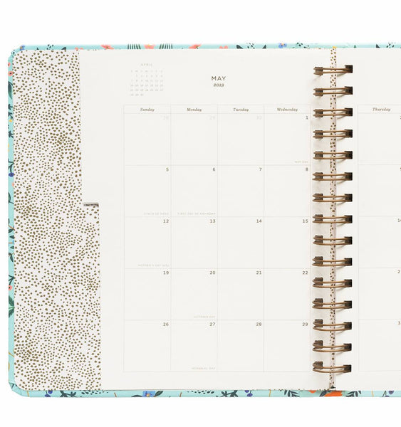 2019 17-Month Planner - Wildwood