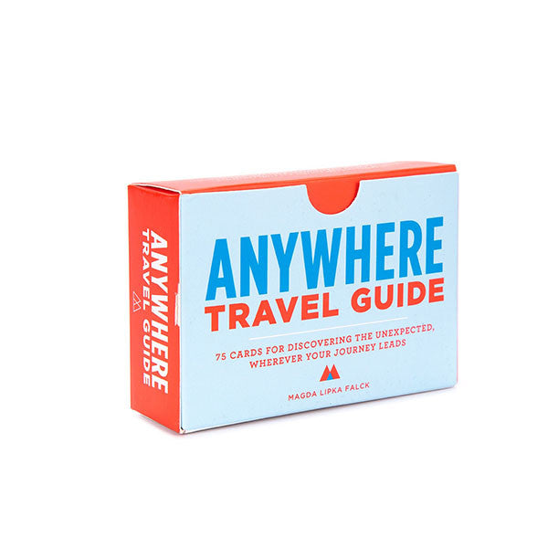 Anywhere Travel Guide: 75 Cards for Discovering the Unexpected, Wherever Your Journey Leads