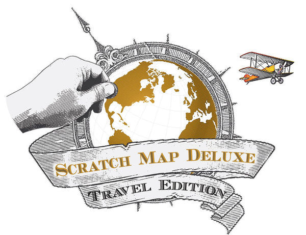 Scratch Map Deluxe (Travel Edition)