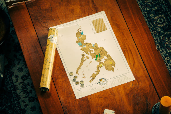 Scratch Map Philippines
