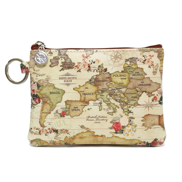 Indimap Pattern Coin Wallet + Key Chain