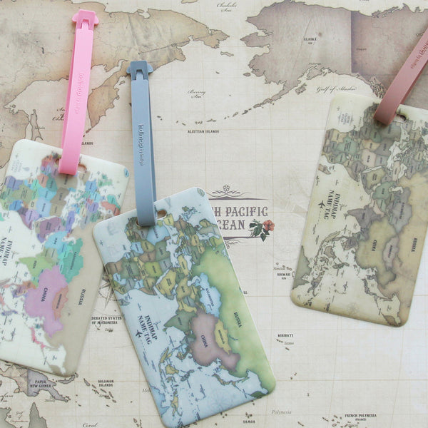 Indimap Luggage Tag