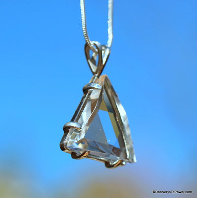 Star of David Vogel Triangle Pendant