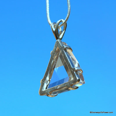 Satyaloka Quartz Star of David Pendant