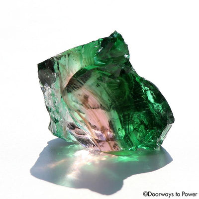 VENUS (IAN) PINK Emerald Thoth Bi Color Andara Crystal 'Ultra Rare'