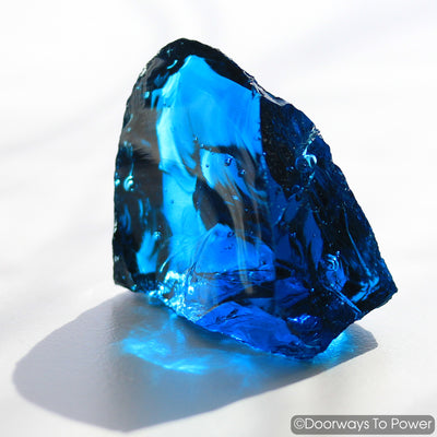 Electric Blue Atlantean Monatomic Andara Crystal