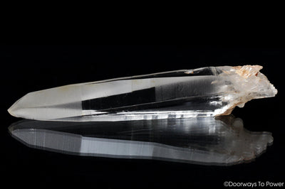 Lemurian Quartz Crystal Laser Wand with Record Keepers