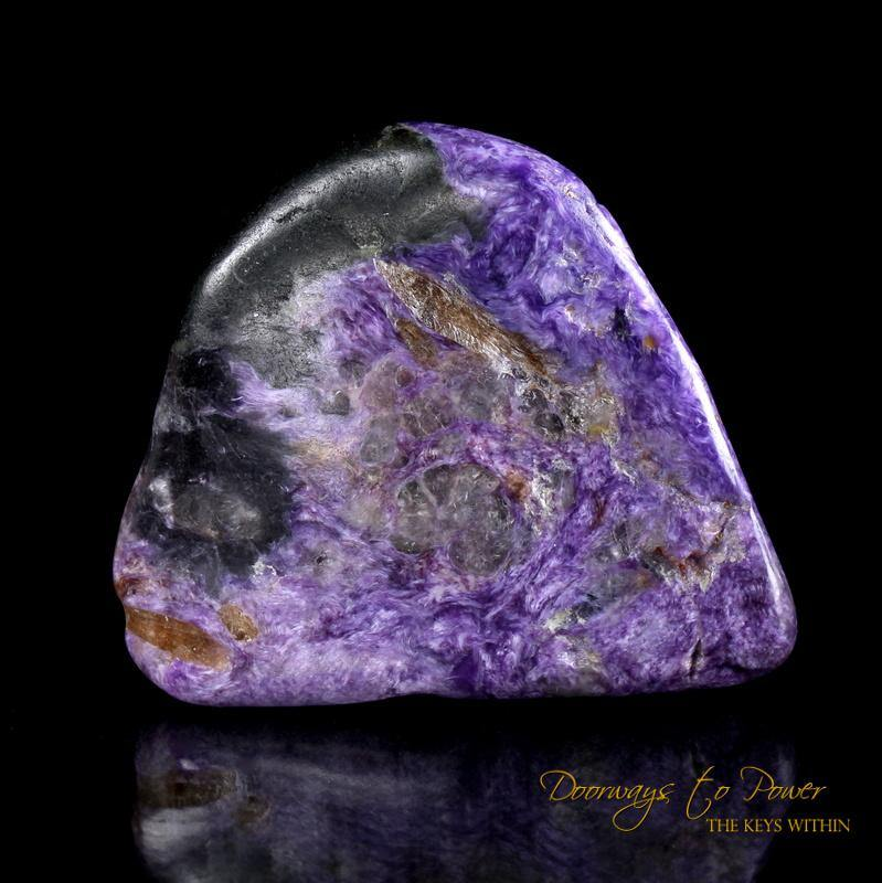 Charoite Crystal Altar Stone