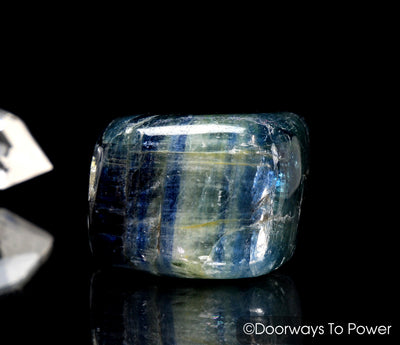 Blue Kyanite Psychic Crystal