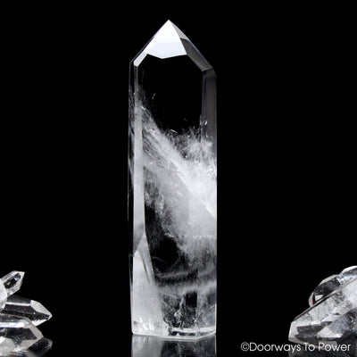 John of God Quartz Casa Crystal Point