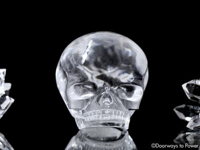 Advanced Harmonically Aligned Sirius Quartz Magical Child Crystal Skull 'DA'