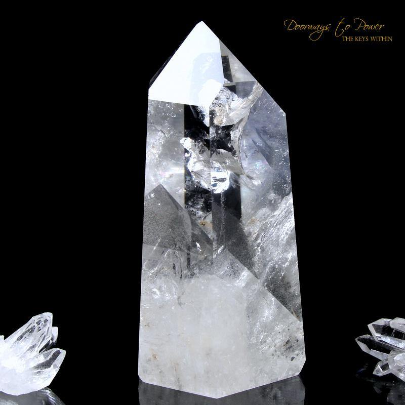 Lemurian Phantom Quartz Temple Heart Dow Crystal 'ERA of LIGHT'