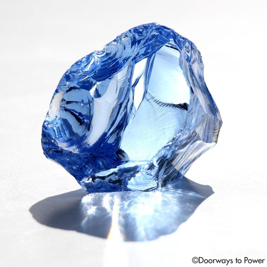 Lady Nellie Blue Monatomic Andara Crystal Gem 'Blue Flame'