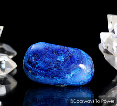 Royal Blue Azurite Tumbled & polished Crystal