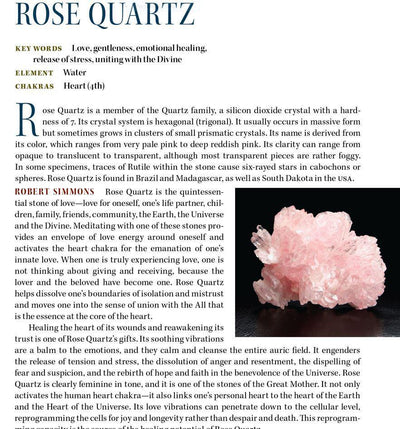 Rose Quartz Metaphysical Properties