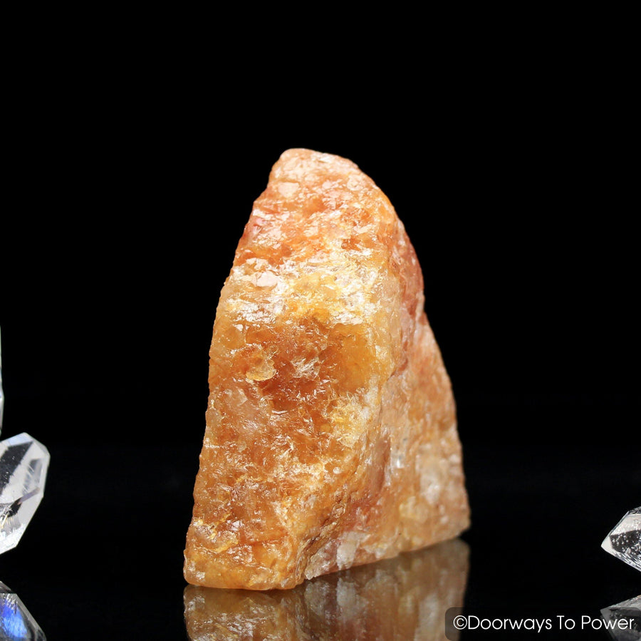 Himalaya Red Gold Azeztulite Crystal