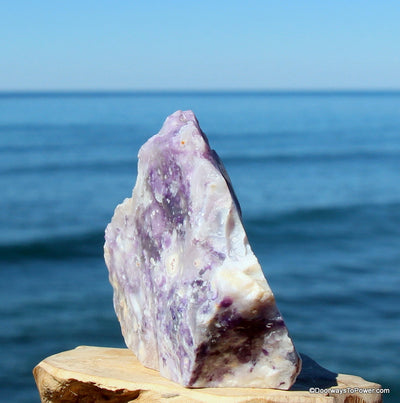 Violet Flame Opal Altar Stone RESERVED for MEG