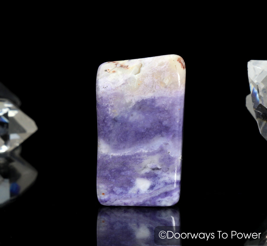 Violet Flame Opal Crystal Polished & Tumbled Stone