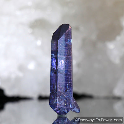 Himalayan Quartz Crystal Tanzan Aura Record Keeper Crystal