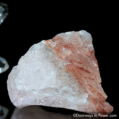 Pink Fire Azeztulite Crystal 'Inner Fire' Azozeo Activated