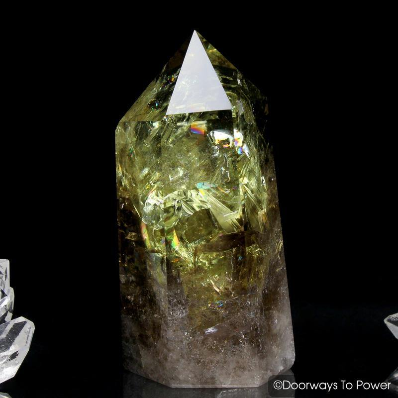 John of God Citrine Smoky Generator Quartz Record Keeper Crystal