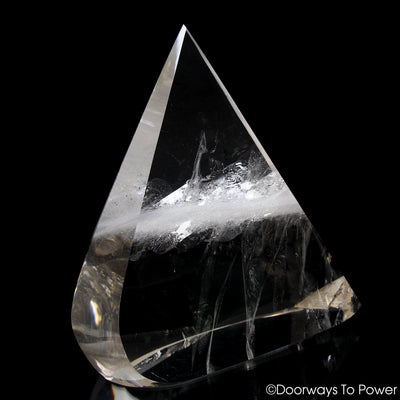 John of God Triangle Quartz Casa Crystal Sculpture 'Ascension' As Above, So Below