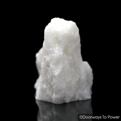 White Azeztulite Crystal Altar Stone Azozeo Activated Synergy 12 Stone