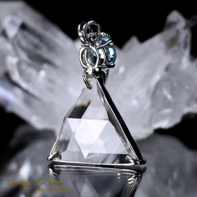 Vogel Crystal Star of David Pendant