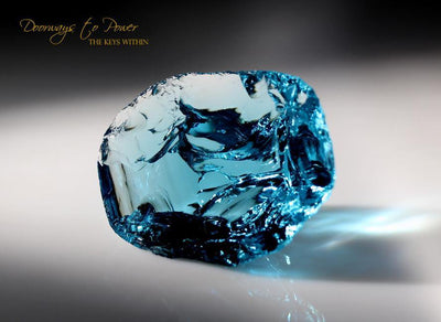 Azure Elysium Monatomic Andara Crystal Glass California