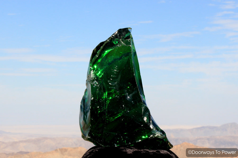 Emerald Shift Monatomic Andara Crystal 'Atlantean Master of Mysteries' 15 lbs VERY RARE