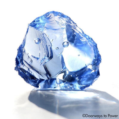 Lady Nellie Blue Monatomic Andara Crystal 'The Blue Flame'